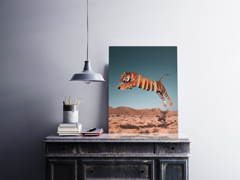 Tiger Orange Canvas