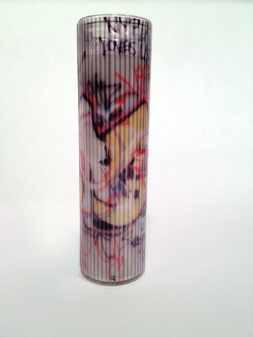 D-LIGHT Pillar Candle in Berry