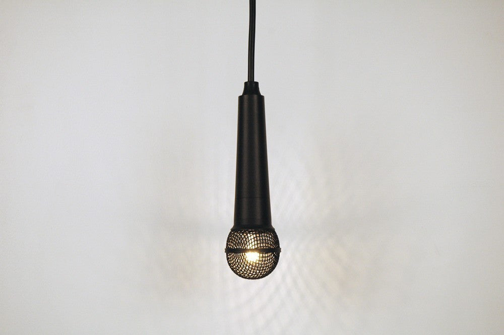 SOLO Pendant Light in all Black