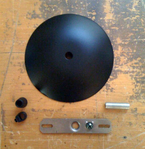 Ceiling Hardwire Kit in Black
