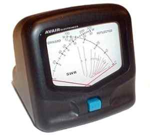 Maas SWR AV-40 AVAIR VSWR/POWER Meter