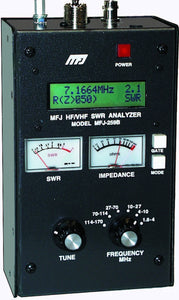 MFJ 259B SWR ANALYZER HF VHF