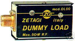 ZETAGI DL50 0-500MHz 50W DUMMY LOAD