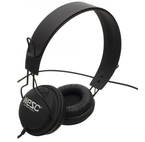 Wesc Tambourine Ear Headphones in Black