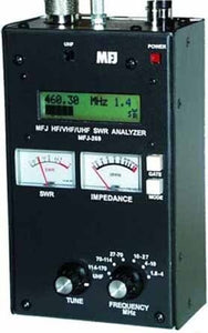 MFJ 269 Multi function SWR Analyzer for HF VHF UHF