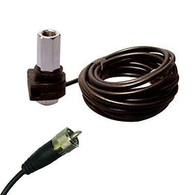 Snail Mount Kit Suitable for 3/8 CB Radio Antenna Aerials