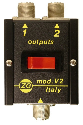 ZETAGI V2 2 POSITION ANTENNA SWITCH 500W