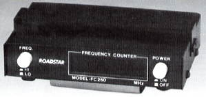 FC-27 FREQUENCY COUNTER