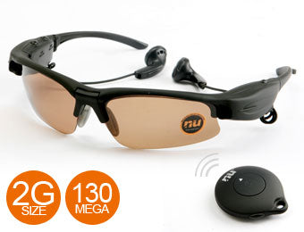 Dolphin Spy Sunglasses Mp3 player