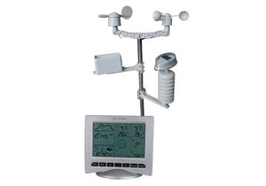 W 8681 SOLAR Wireless Weather Station + Solar Powered Transmitter