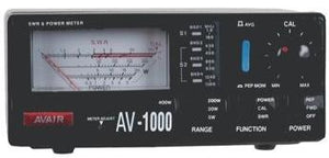 AVAIR AV-1000 SWR VSWR/POWER Meter
