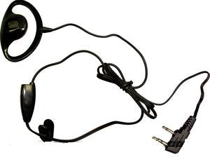 Kenwood Compatible  EPM-110 D EAR MIC WITH PTT