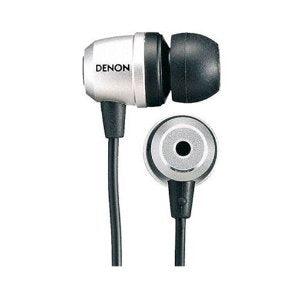 Denon AH-C551 Inner Ear Stereo Headphones Colour SILVER