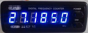SUPERSTAR KF VI FREQUENCY COUNTER BLUE