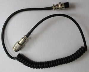 8 PIN CB RADIO MICROPHONE EXTENSION CABLE LEAD