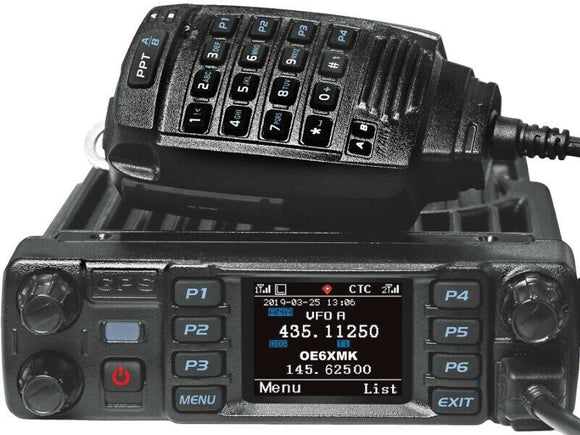 Anytone AT D 578 UV Pro FM DMR Mobile Radio