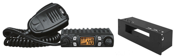 CRT ONE N AM FM Multi AM FM CB Radio PLUS Din Case