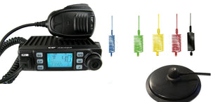 CRT XENON Multi AM FM CB Radio + Stinger + Mag Mount