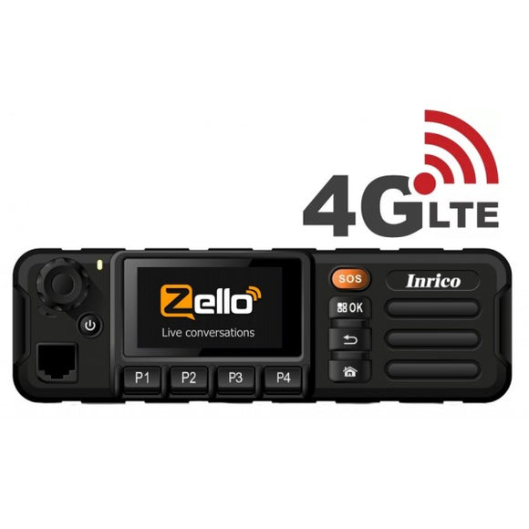 Inrico TM-7 4G/WiFi Network Mobile Network Radio