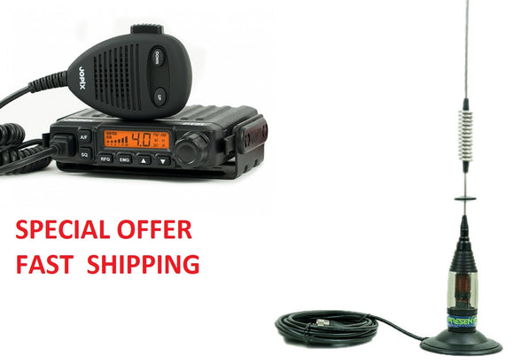 JOPIX PT31 CB Radio PRESENTER Scorpio Mobile Antenna & Magmount OFFER