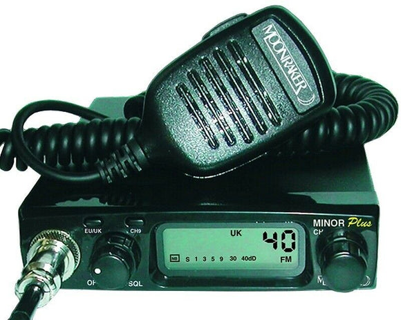 Moonraker Minor plus CB Radio FM ONLY UK40 EU40 12/24v