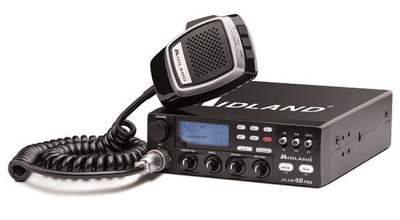 Midland Alan 48 Pro 80 Channel CB Radio