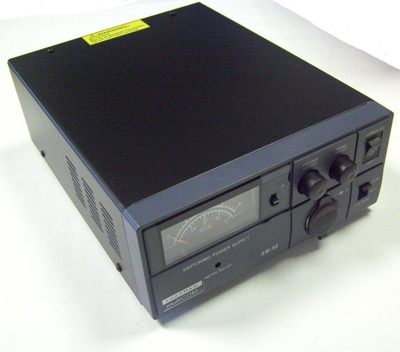 SHARMAN SM 50 SWITCH MODE 50 AMP POWER SUPPLY 9-15V  13.8V