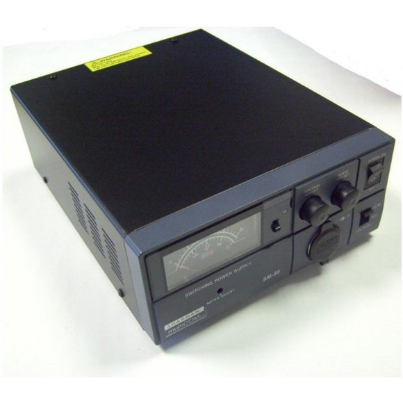 SHARMAN SM 50 -SWITCH MODE 50AMP POWER SUPPLY PSU 9-15V/ 13.8V