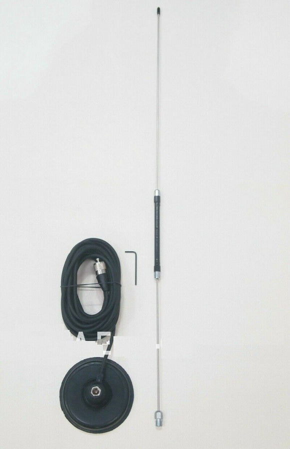 Sigma Centre Loaded Magnetic Mag Mount Mobile CB Antenna