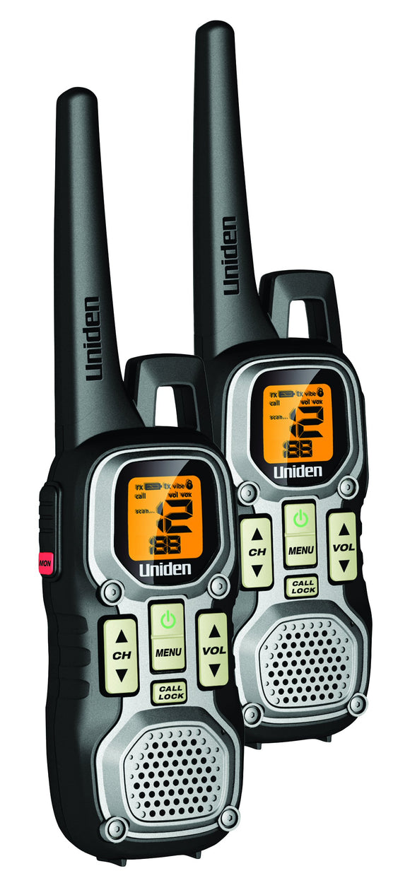 UNIDEN PMR 446 HR 2CK PMR 446 TRANSCEIVERS TWIN PACK OF 2 RADIOS