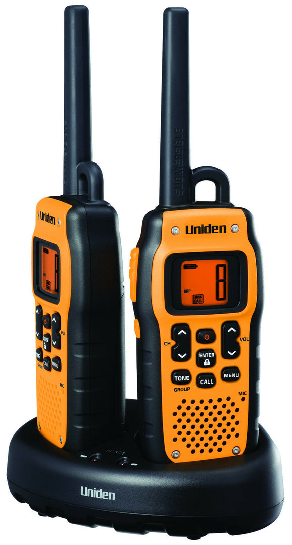 UNIDEN PMR 446 SWPF 2PK PMR 446 TRANSCEIVERS TWIN PACK OF 2 RADIOS