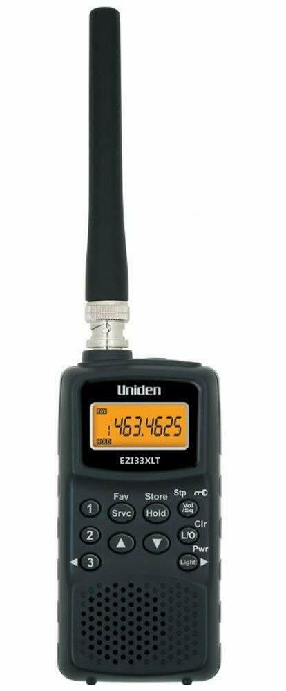 Uniden EZI 33 XLT Air Marine band Radio Scanner VHF UHF AM FM