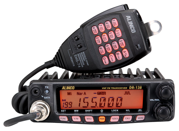 Alinco DR 138H 2M mobile VHF radio 138