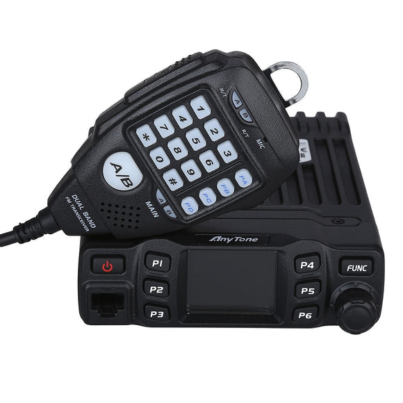 Anytone AT 778UV Dual Band Mobile Transceiver VHF UHF