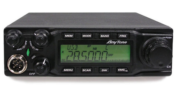 ANYTONE AT 6666 10M 11m MOBILE TRANSCEIVER