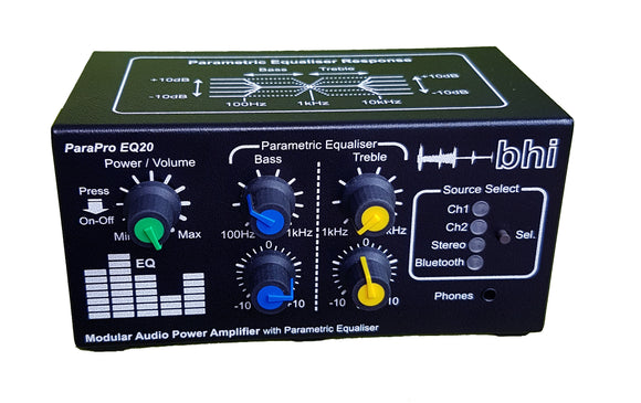 BHI PARAPRO EQ20 WITHOUT BLUETOOTH AUDIO DSP SPEAKER UNIT