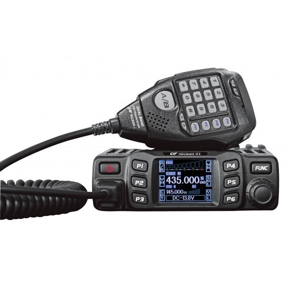 CRT MICRON U/V UHF-VHF DUAL BAND MOBILE RX/TX : 144 146 MHz 430 440 MHz PLUS CABLE & SOFTWARE