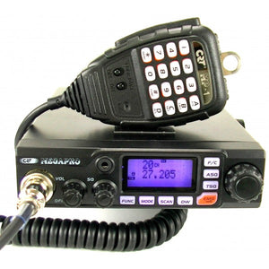 CRT MEGAPRO CB Radio 80 Channels 12 24 VOLTS