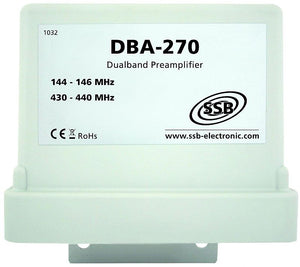 DBA 270 Dual band pre amplifier 2m 70cm 144-146  430-440