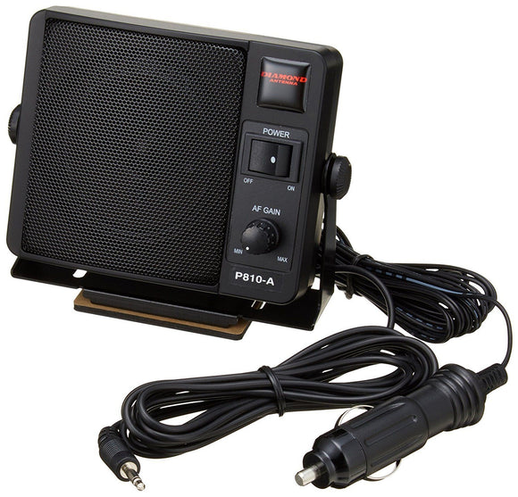 Diamond P810 A Portable Speaker With Built-In Amplifier CB Ham Radio