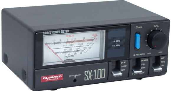 Diamond SX 100 3KW SWR Power Meter Ham Radio