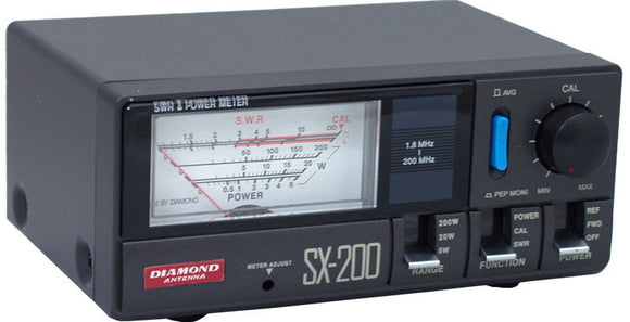 Diamond SX 200 HF/VHF 200W SWR/Power Meter Ham Radio