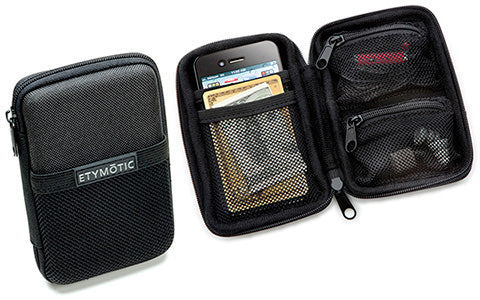 ER38-65D  Headphone Deluxe Zippered Pouch