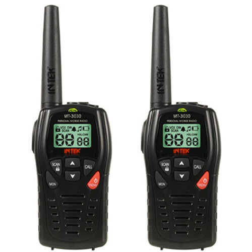 INTEK MT 3030 DUAL BAND PMR 446 LPD 433 HIGH QUALITY WALKIE TALKIES RADIO (PAIR)