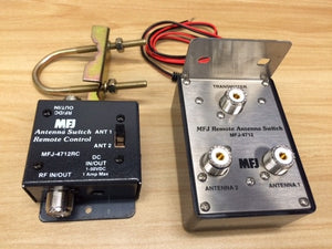 MFJ 4712 REMOTE ANTENNA SWITCH 2 POSITIONS HAM RADIO