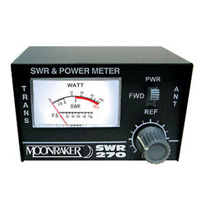 Moonraker 270 2m 70cm UHF VHF SWR Radio Power Meter