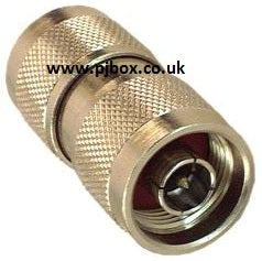 N type male to male M/M coupler adapter