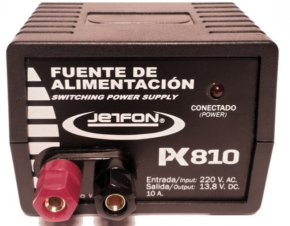 JETFON 810 13.8V 10 AMP PSU POWER SUPPLY CB HAM RADIO