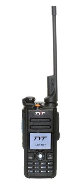 TYT MD 2017 DMR Radio dualband VHF/UHF DMR handheld transceiver PRE Loaded & GPS + Cable