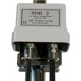 WIMO MINI 2 MAST RECEIVE PRE AMPLIFIER FOR 2M